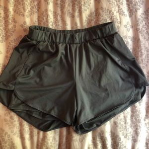 running shorts with built in spandex